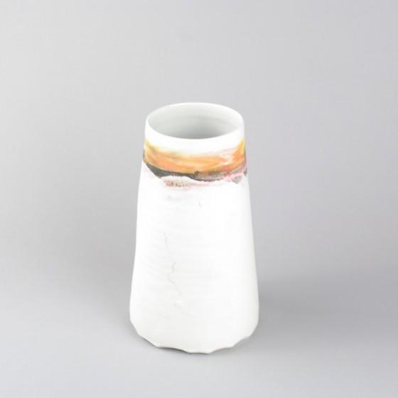"""Porcelain vase """" ô ciel"""""""