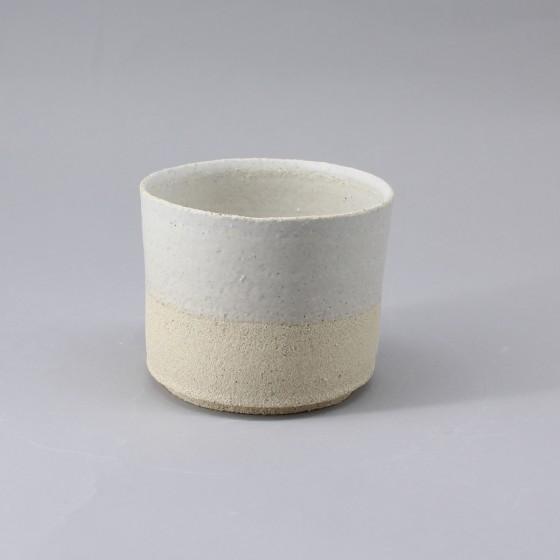 Small white stoneware ramekin