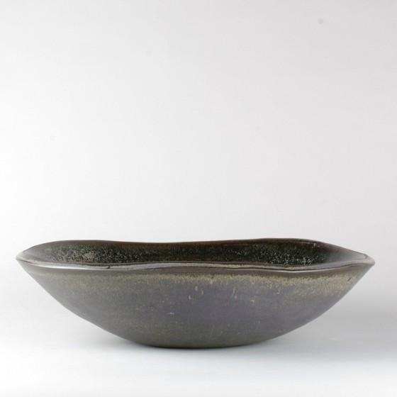 Vasque céramique noire nuclée