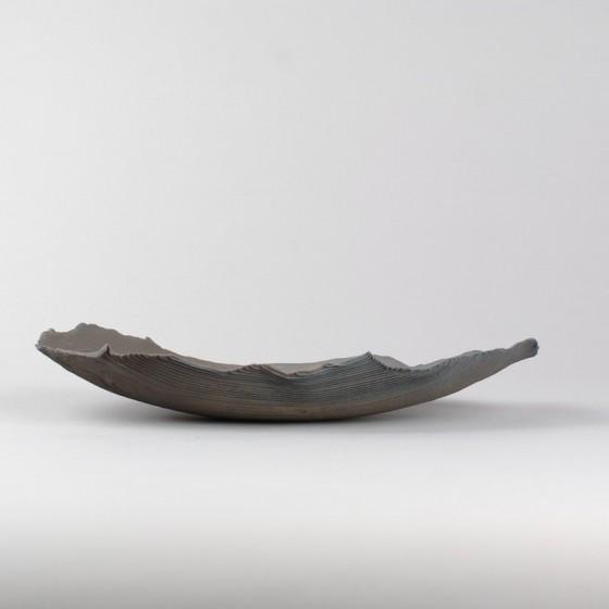 Stoneware presentation dish