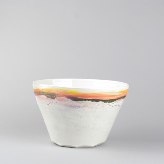 "Porcelain conical bowl ""ô..."