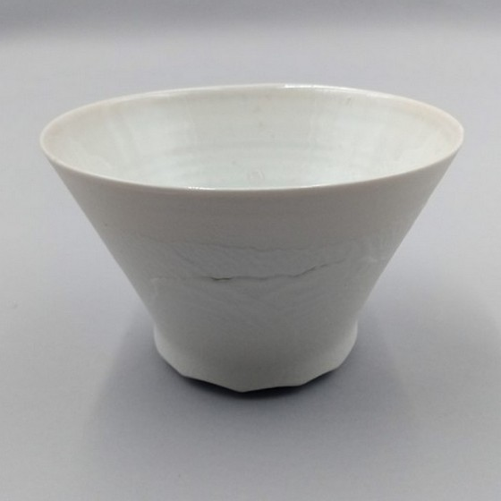 Conical porcelain bowl...