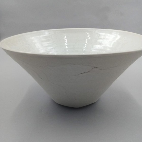 "Conical salad bowl "" Winter..."