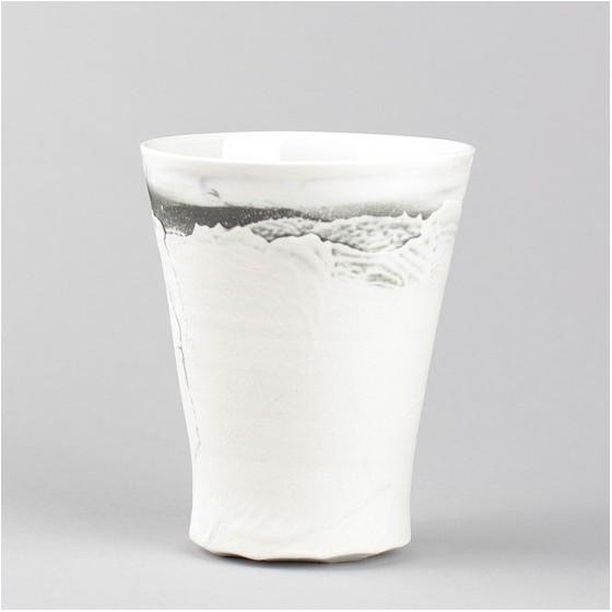 Porcelain mug handmade