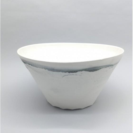 Saladier conique porcelaine...
