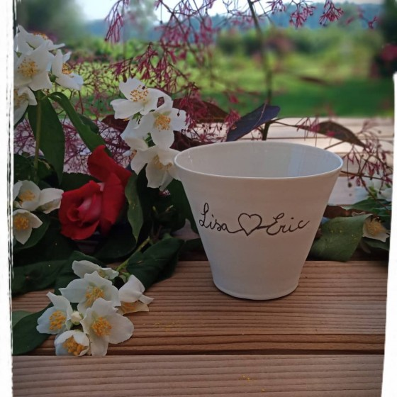 Personalized mug for weddings