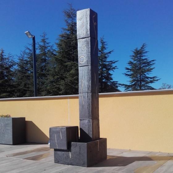 Totem sculpture...