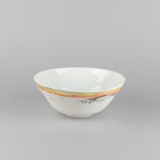 """Porcelain """"ramen"""" bowl"""