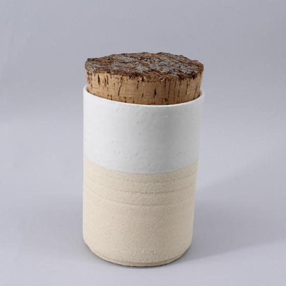 """Boite grès blanc """"..."""